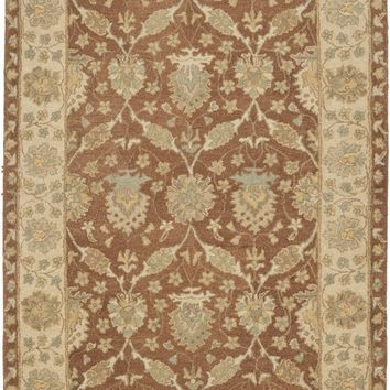 Antiquity Traditional Indoor Area Rug Brown / Taupe
