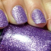 light purple sparkly nails - Google Search