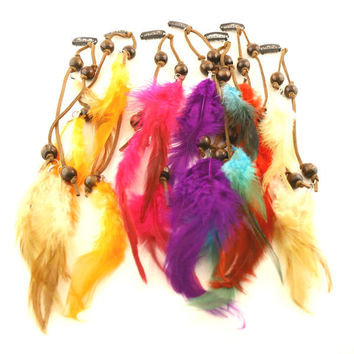 Three Feather Hair Extensions