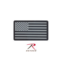 US Flag Patch with Hook Back