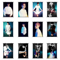 K-POP EXO Album Photo Poster Overdose Painting Picture EXO-K EXO-M Wall Hanging