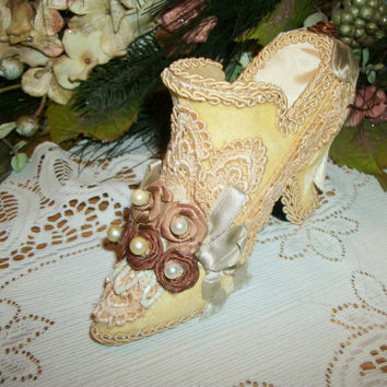 Victorian Shoe Boudoir Decor by Wayne M. Kleski a Katherine's Collection Collectible from A Vintage Addiction