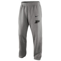 Nike Purdue Boilermakers College Classic Fleece Pants - Ash