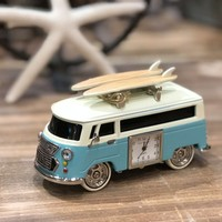 TOKIBOT Vintage Bus Clock | Light Blue