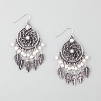 Full Tilt Dream Catcher Earrings Antique Silver One Size For Women 26094658201
