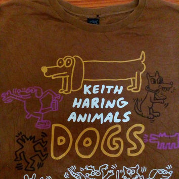 Keith haring animals pop art vintage andy warhol