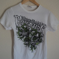 White Bullet For My Valentine Band Tee Size Small