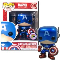 FunKo POP Marvel : Captain America Toy Figure