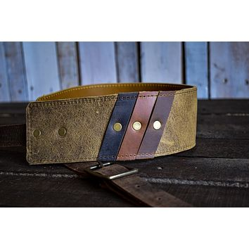 Leather Guitar Strap | Acoustic Guitar Strap | Handmade Instrument Strap