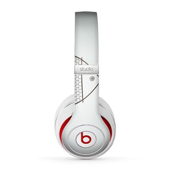 The Simple Vintage Fish on String Skin for the Beats by Dre Studio (2013+ Version) Headphones