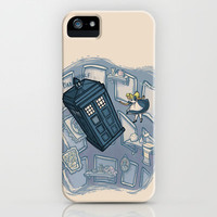 Falling iPhone & iPod Case by Karen Hallion Illustrations