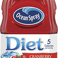 Ocean Spray Diet Cranberry Juice Drink with Lime, 64 Ounce Bottles (Pack of 8)