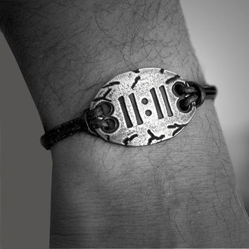 11:11 1111 Art Bracelet Interfaith Multifaith Make a Wish Spiritual Numerology Jewelry Ascention Jewelry adjustable unisex bracelet