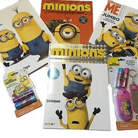 Despicable Me Minion Coloring Book Activity Bundle Free Bonus Gifts