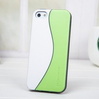 Speck White and Green Case For Iphone4/4s