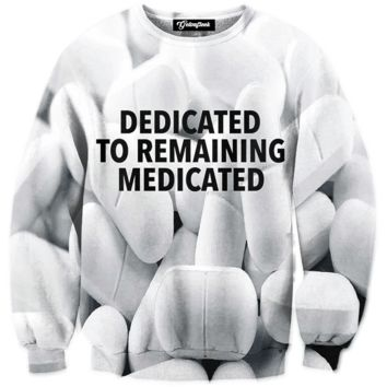 Stay Medicated Crewneck