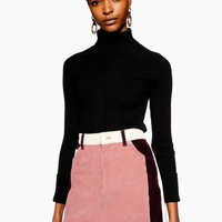 Colour Block Corduroy Skirt | Topshop