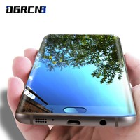 9H 0.26mm 3D Full Cover screen protector Tempered Glass for Samsung Galaxy S7 / S7 Edge / S8 / S8 Plus Full coverage glass case