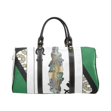 Play Your Hand...Queen Spade No. 3 Small Duffel Bag
