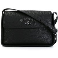 Vivienne Westwood Anglomania Textured Flap Crossbody Bag - O' - Farfetch.com