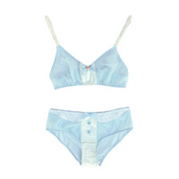 Baby Blues Bralette and Panty Set