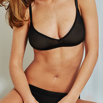 Sieve Non-Wire Bra in Black