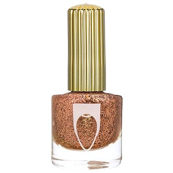 Keys to the Mansion Copper Glitter Nail Polish by Floss Gloss- Safe and Toxin Free