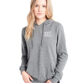 No Passing Hoodie - Charcoal Grey