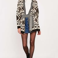 BDG Brushed Ivy Belted Cardigan - Urban Outfitters