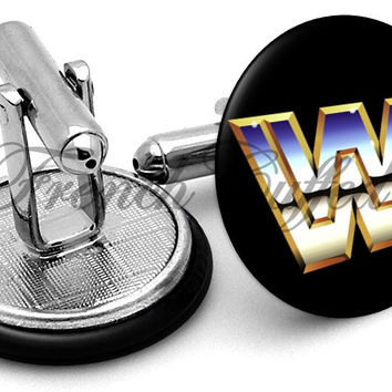 WWE World Wrestling Vintage Cufflinks