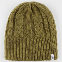 Neff Pike Beanie Olive One Size For Men 26588753101