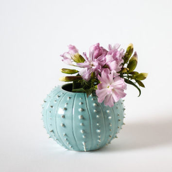 Ceramic vase/ suculent planter/ ceramic vessel/ flower pot/ mint