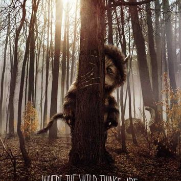 Where the Wild Things Are 27x40 Movie Poster (2009)