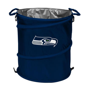 Seattle Seahawks NFL Collapsible Trash Can Cooler