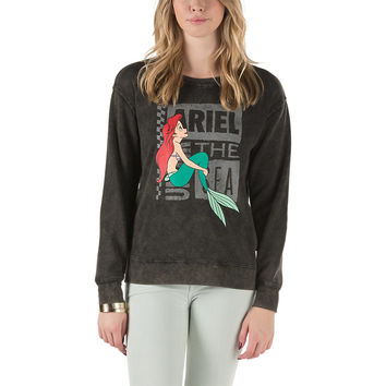 Disney Ariel Crew Sweatshirt | Shop at Vans