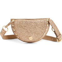 See by Chloé Kriss Grommet Metallic Leather Fanny Pack | Nordstrom