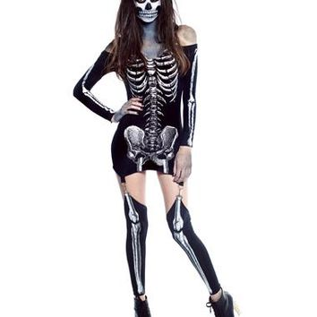X Rayed Adult Womens Costume