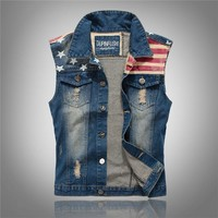Slim Vest For Men Jeans