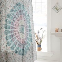 Magical Thinking Odette Medallion Shower Curtain