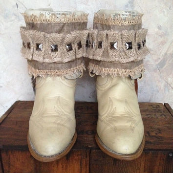TEXAS upcycled western cowboy boots womens size 7