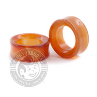 Red Line Agate Stone Tunnels