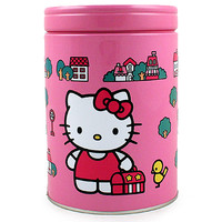 Hello Kitty Round Bank Tin [Kitty and Bird]