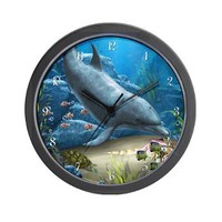The World Of The Dolphin Wall Clock> The world of the Dolphin> Gatterwe