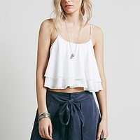 Free People Womens Tropical Wave Top