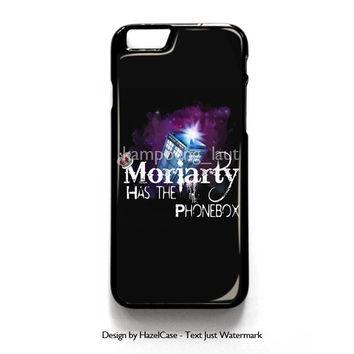 Moriarty Has The Phonebox for iPhone 4 4S 5 5S 5C 6 6 Plus , iPod Touch 4 5  , Samsung Galaxy S3 S4 S5 Note 3 Note 4 , and HTC One X M7 M8 Case Cover