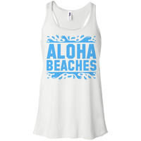 Aloha Beaches Racerback Tank Top