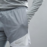 Nike Running Flex Distance 5 Inch Shorts In Grey 834188-065 at asos.com