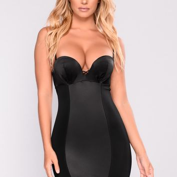 The Perfect Fit Shape Wear Dress - Black