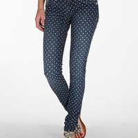 Miss Me Polka Dot Skinny Stretch Jean