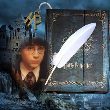 3 In 1 Harry Potter Vintage Notebook Book Bookmark Journal Monthly Weekly Calendar Agenda Daily Organizer Planner 2017-2018-2019